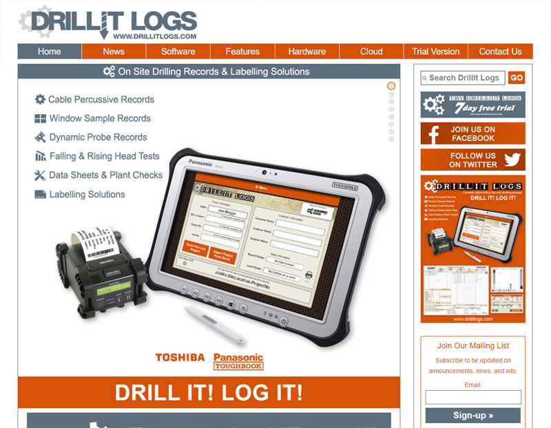 DrillIt Logs