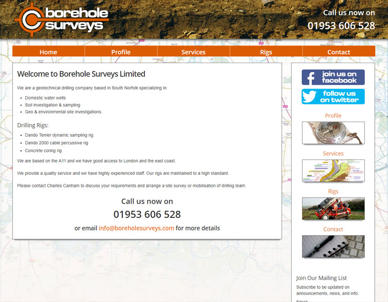 Borehole Surveys